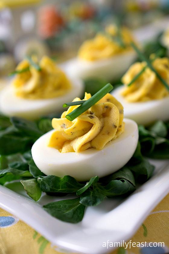 Deviled Eggs A Family Feast