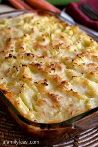 Cheddar Topped Shepherd's Pie - A Family Feast