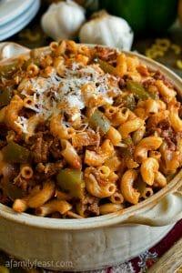 American Chop Suey - A Family Feast