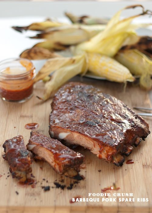 Barbeque Pork Ribs with Magic Dust - 30-Plus Great Grilling Recipes