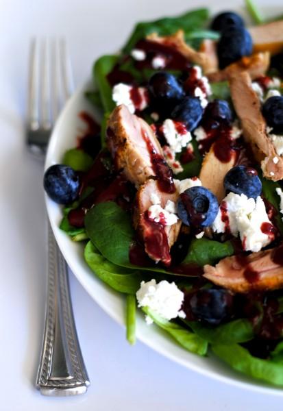Blueberry Balsamic Vinaigrette - 25+ Best Blueberry Recipes