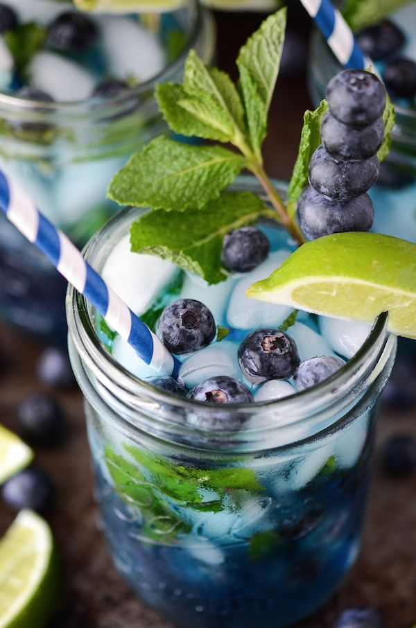 Blueberry Mojito - 25+ Best Blueberry Recipes