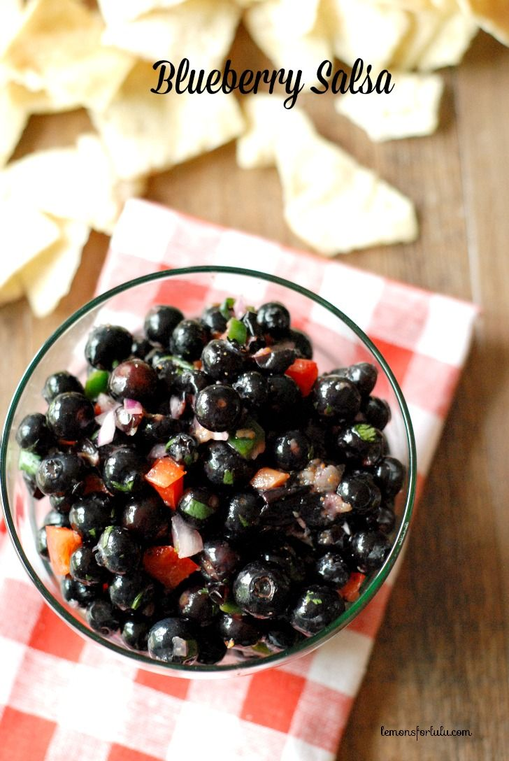 Blueberry Salsa - 25+ Best Blueberry Recipes