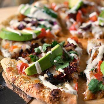 Cemita Pulled Pork Pizza - A Family Feast