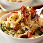 Baked Tortellini with Chicken Gratinati - A Family Feast