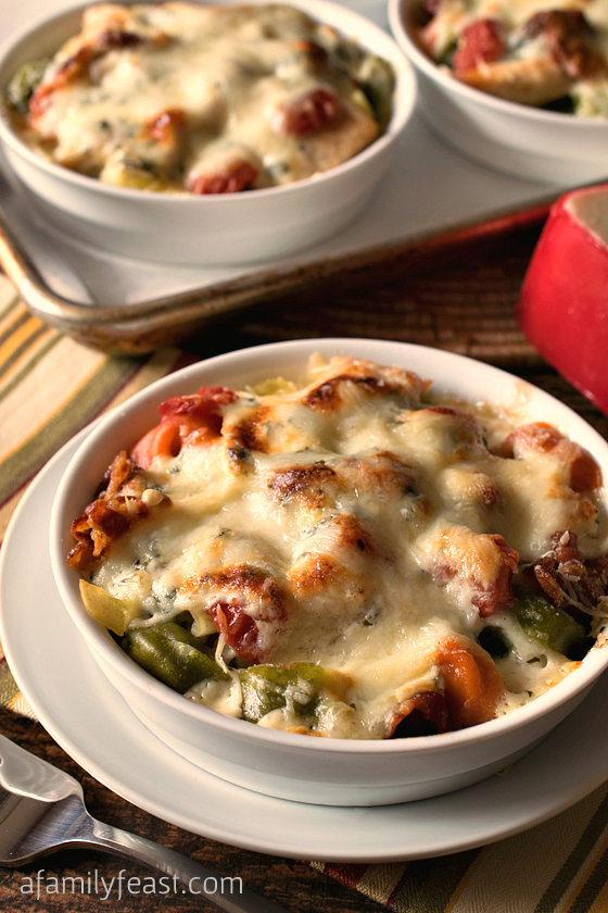 this isn't an exact copycat recipe for Bertucci's baked tortellini ...