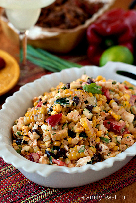 Mexican Corn Salad - The fresh and fantastic flavors in this salad are perfect for any Cinco de Mayo fiesta!