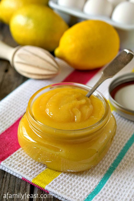 Lemon Curd - A Family Feast