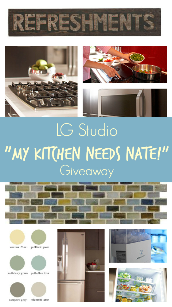 "LG Studio and ""My Kitchen Needs Nate"" Contest - A Family Feast"