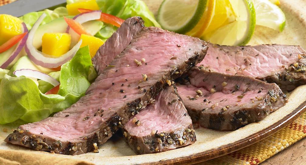 Cuban Style Marinated Steak - 20+ Sizzling Steak Recipes