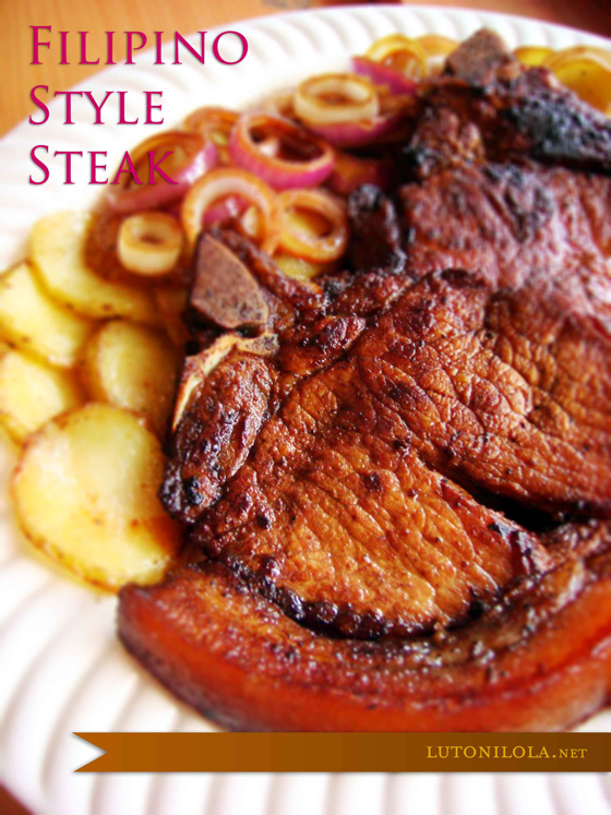 Filipino Style Steak