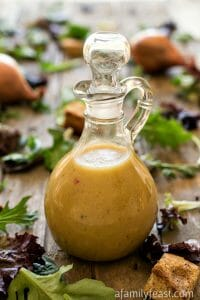 Simple Red Wine Vinaigrette - A Family Feast