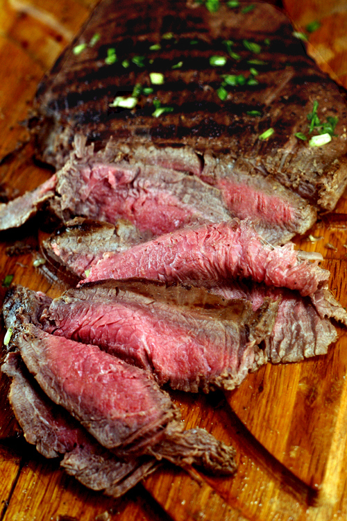 Spicy Asian Marinated Flank Steak - 20+ Sizzling Steak Recipes