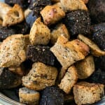 Sunday Cooking Lesson: Homemade Croutons - A Family Feast