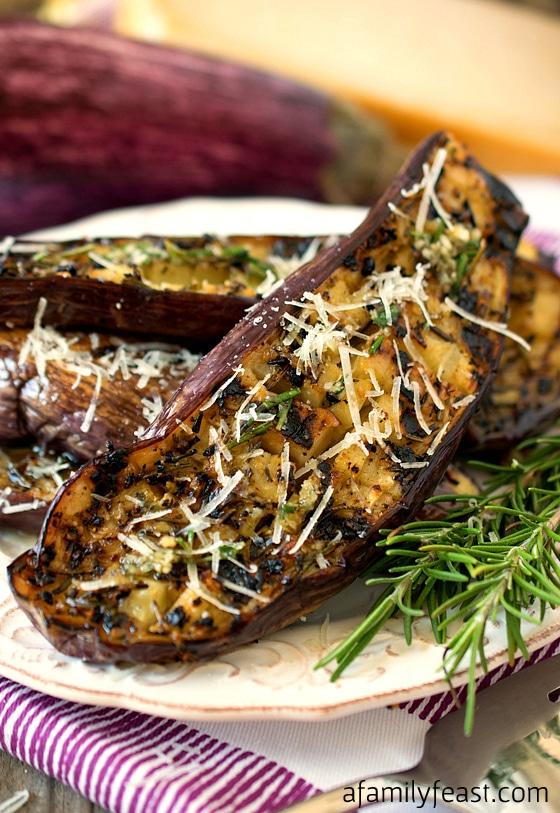 Eggplant Parmesan - A Family Feast
