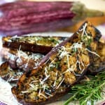 Grilled Graffiti Eggplant