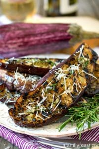 Grilled Graffiti Eggplant - A Family Feast