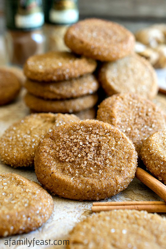 Saigon Cinnamon Ginger Cookies - A Family Feast