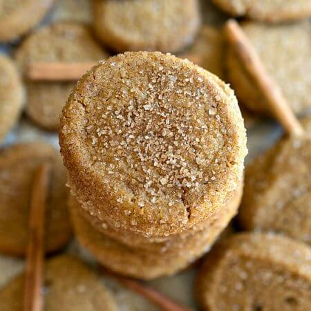Saigon Cinnamon Ginger Cookies - A Family Feast