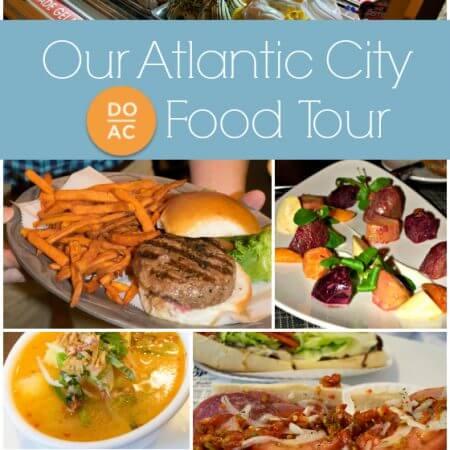 Our DoAC Atlantic City Food Tour - A Family Feast