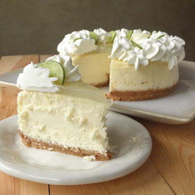 Key Lime Cheesecake - 30-Plus Fantastic Key Lime Recipes - A Family Feast