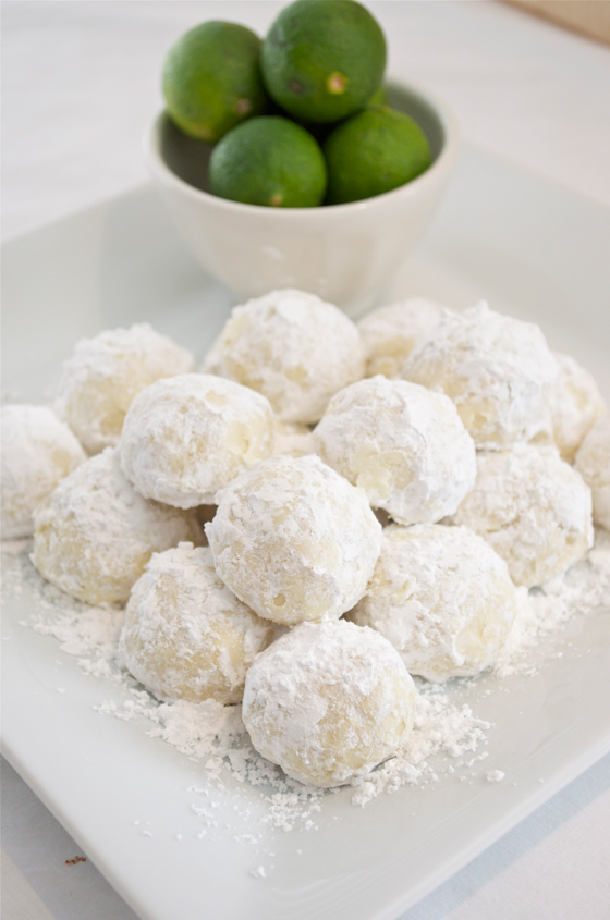 Key Lime Cooler Cookies - 30-Plus Fantastic Key Lime Recipes - A Family Feast