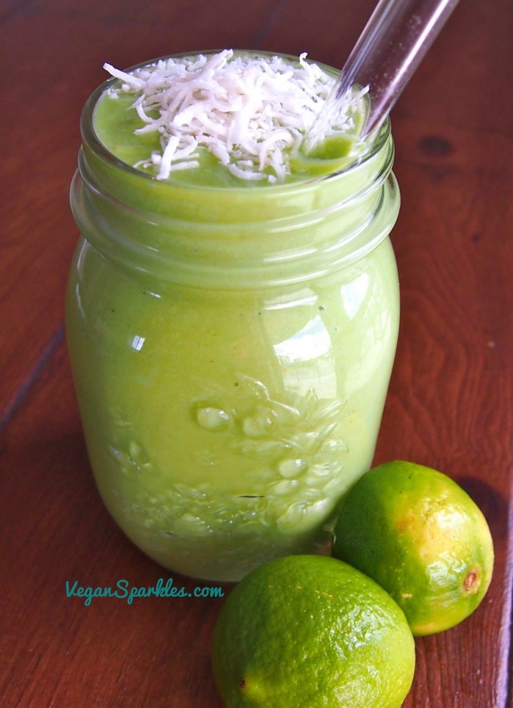 Key Lime Pie Smoothie - 30-Plus Fantastic Key Lime Recipes - A Family Feast