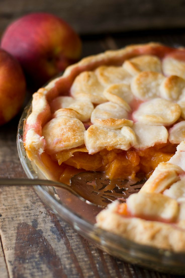 Peach Pie with Maple Whipped Cream - 25-Plus Perfect Peach Recipes