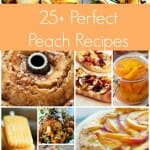 25+ Perfect Peach Recipes