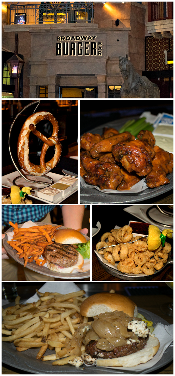 Broadway Burger Bar #DoAC - A Family Feast