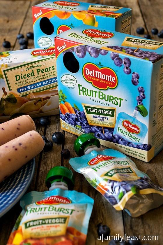 Del Monte Fruit Burst Yogurt Pops & VISA Gift Card Giveaway - A Family Feast