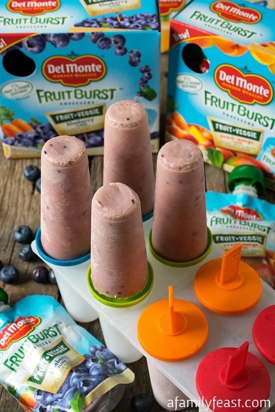 Del Monte Fruit Burst Yogurt Pops
