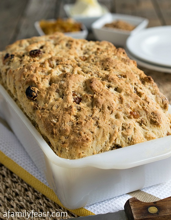 An old family recipe - this Grape-Nuts Bread is hearty and delicious! One of the best breads I've eaten!