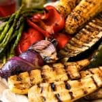Grilled Seasonal Vegetables with Infused Oils