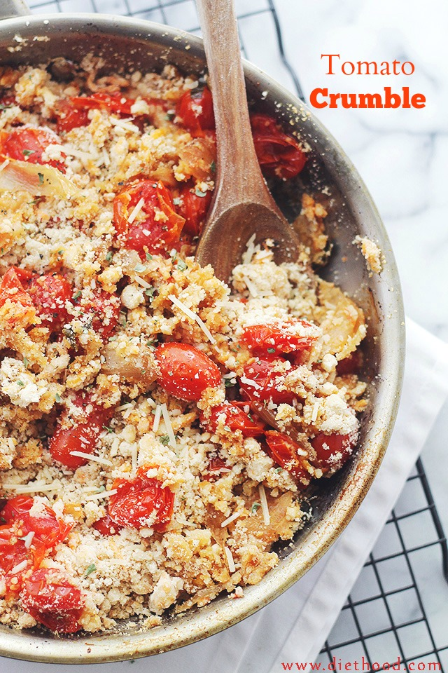 Tomato Crumble - 30+ Recipes for your Garden Tomatoes