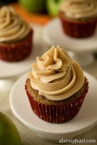 Apple Chai Cupcakes - A Family Feast