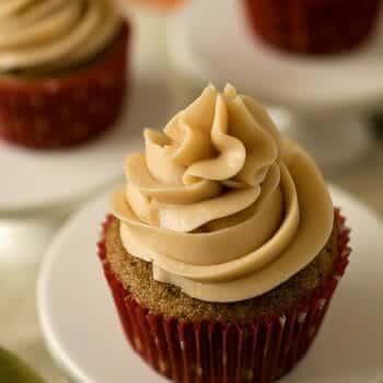 Apple Chai Cupcakes - A Family Feast