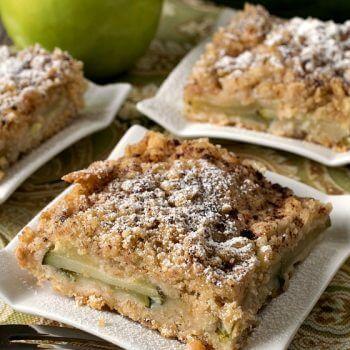 Apple Zucchini Crumb Bars - A Family Feast