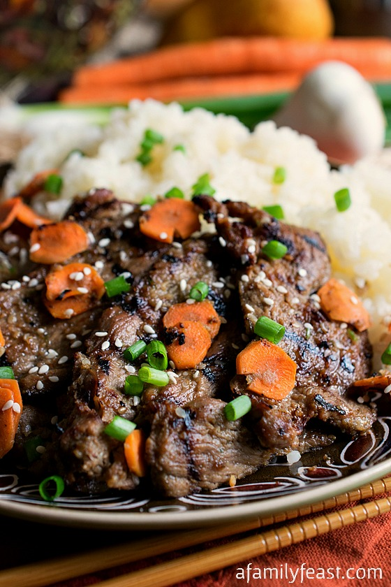 Bulgogi - A delicious version of Korean Beef Barbecue that anyone can ...