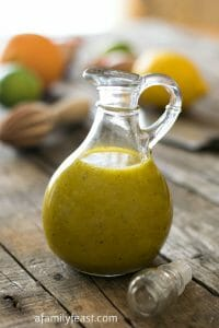 Savory Citrus Dressing - A Family Feast