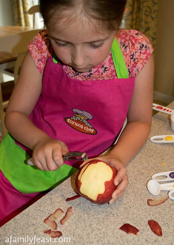 Apple Chai Cupcakes & Curious Chef Product Review - A Family Feast