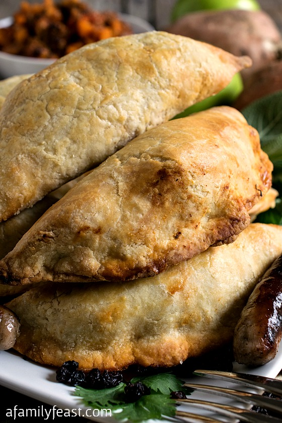 Sausage and Apple Empanadas - A Family Feast