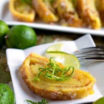Key Lime Torte - A Family Feast