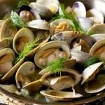 Littlenecks in Fennel Broth - A Family Feast