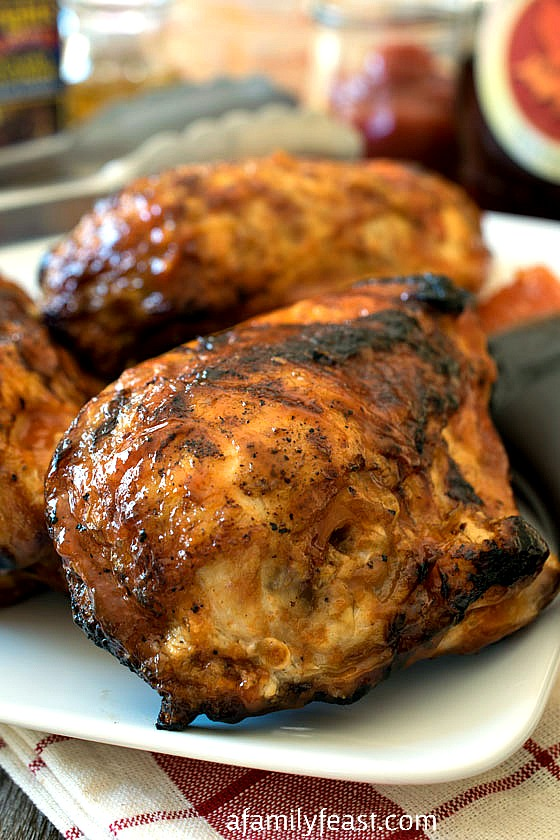 Perdue's Favorite Sweet and Smokey Chicken - A Family Feast
