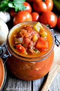 Stewed Tomatoes - A Family Feast