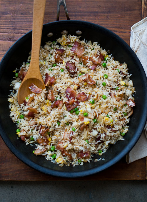 Bacon-Lovers Fried Rice - 30+ Remarkable Rice Recipes