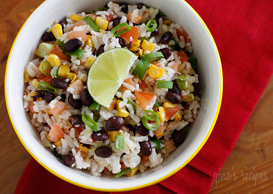 Fiesta Lime Rice - 30+ Remarkable Rice Recipes