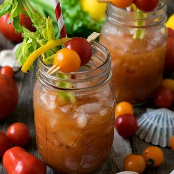 Nautical Mary - A delicious coastal twist on a classic Bloody Mary cocktail!