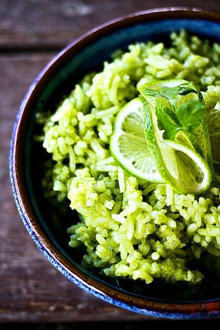Scallion Cilantro Lime Rice - 30+ Remarkable Rice Recipes
